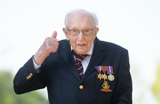 Captain Tom Moore gets special Royal Mail postmark to celebrate 100th birthday