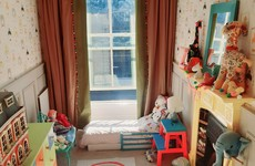 'Bright, fun and a quirky shape': Niamh shares her daughter's colourful nursery