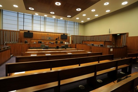 File photo. Courtroom.
