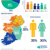One-third of Irish people believe there'll be a united Ireland in the EU in the next ten years