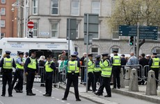 Gardaí say file to be submitted to DPP after crowd gathers outside Four Courts