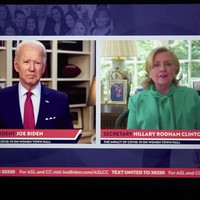 'A real president not just somebody who plays one on TV': Hillary Clinton endorses Joe Biden