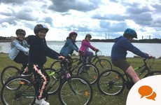 'Children love cycling and the quieter roads right now offer them a chance to learn'