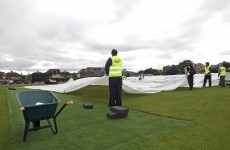 Rained off: Ireland v Afghanistan stumped by the weather