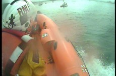 Swimmer rescued by lifeboat after getting into difficulties in Cork
