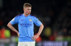 Kevin De Bruyne will consider Man City future if two-year European ban upheld