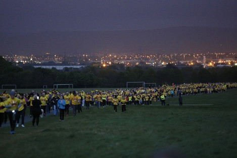 The Darkness into Light event from 2017.