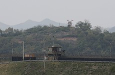Multiple shots fired from North Korea at guard post across border, says South