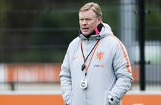 Holland boss Ronald Koeman in hospital after heart procedure