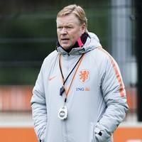 Holland boss Ronald Koeman in hospital after heart procedure