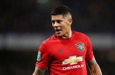 Manchester United to speak to Marcos Rojo after lockdown breach