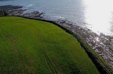 Previously unknown cliff ring fort discovered by drone operator in Clare