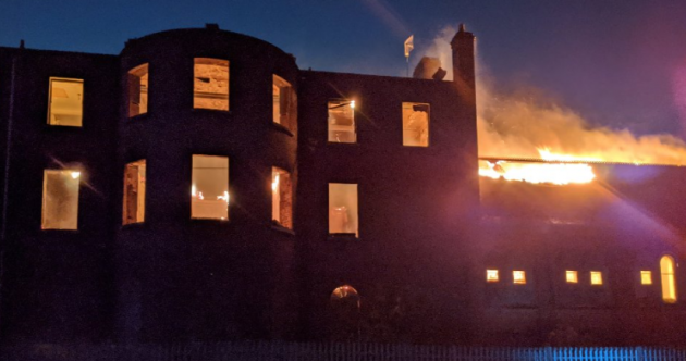 No injuries as another fire at historic building in north Dublin brought under control