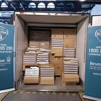 Nine million cigarettes marked as frozen food seized at Dublin Port