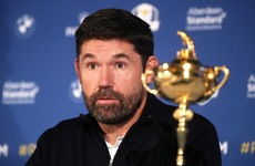 Padraig Harrington hopes Ryder Cup goes ahead as Luke Donald named vice-captain