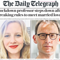 As UK tops European death toll, 'Professor Lockdown' and his 'married lover' dominate the front pages