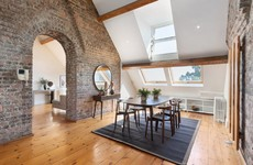 Second to nun: Convent penthouse with original features in D6 for €875k