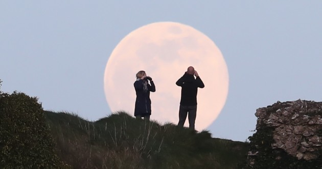 The last supermoon of the year will be visible in Irish skies tonight