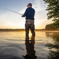 Anglers can now fish within 5km of their home