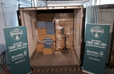 8.4 million cigarettes, hidden behind frozen chicken, seized at Dublin Port
