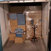 8.4 million cigarettes, hidden behind frozen chicken, seized at Dublin Port