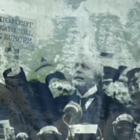 'Highest death toll in Europe': Boris Johnson mocked up as Neville Chamberlain in Dover Cliffs stunt