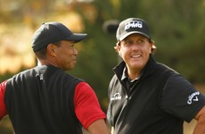 Tiger-Phil TV golf battle with NFL stars to bring in $10 million for coronavirus relief efforts