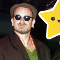 Quiz: Who is this famous person pictured with Bono?