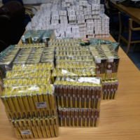 60,000 cigarettes and counterfeit clothing seized by gardaí in Donegal