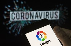 La Liga chief wants restart by 12 June despite eight new positive tests