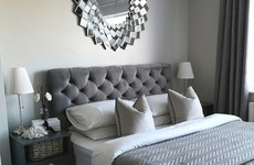 'It took me months to save for the mirror': Andreah shares her monochrome master bedroom