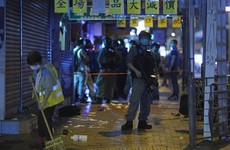 Police arrest more than 200 protesters in Hong Kong
