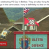 Debunked: No, a Nazi flag was not flown in Belfast on VE day