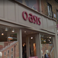 Irish arm of Oasis and Warehouse to be wound up leading to loss of almost 250 jobs