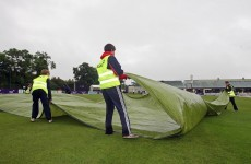 Blame it on the weather, man: Ireland v Afghanistan abandoned