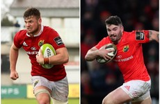 Munster's Sammy Arnold and Conor Oliver set for moves to Connacht