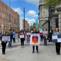 'We're asking for the government's help': Debenhams staff stage protest outside Dáil