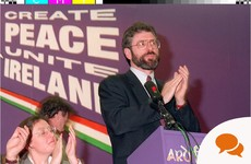 Gerry Adams: 'It's up to the UK government now to address the cases of other internees'