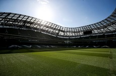 'Arrangements are all in place': Aviva Stadium ready to host matches