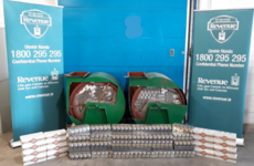 Revenue seize more than €90,000 worth of smuggled cigarettes at Dublin Port