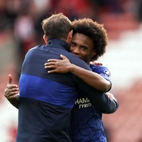 Willian denies Spurs link as Lampard pledges to offer him and Giroud new deals