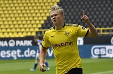 Goal-machine Haaland among the scorers as Dortmund return with 4-0 win