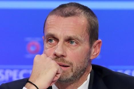 Uefa president, Aleksander Ceferin.