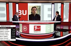 TV Wrap - Ghostly Bundesliga appears on BT Sport while NBC make a hames of golf's return
