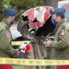Canadian aerobatic crew member killed as plane crashes in residential street during display