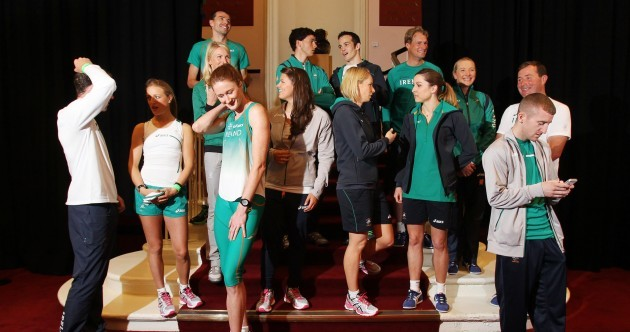 In pictures: Ireland's Olympic hopefuls get set for London