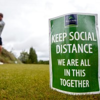 In pictures: Tennis and golf clubs reopen as lockdown restrictions are eased