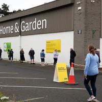 B&Q asks under 16s to stay away as queues mark reopening of hardware stores