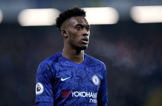Chelsea winger Hudson-Odoi arrested at his home and released on bail