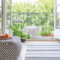 Take a seat: A masterclass in choosing furniture for your tiny garden or balcony